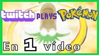 La Historia de Twitch Plays Pokemon en 1 Vídeo