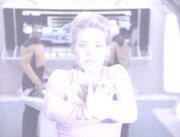 Amanda Rogers in sala macchine