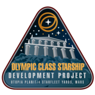 Olympic class patch by Thomas Morrone