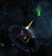 Bajor fighting Jems over Malon II