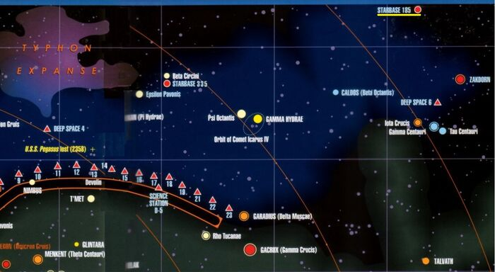 Starbase 185 location