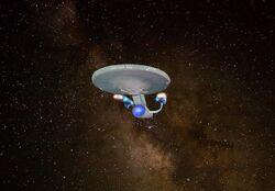 Nebulas Class Starship