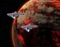 USS Discovery and USS Au-Dela