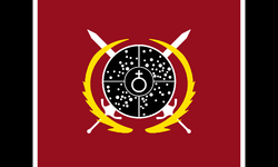 Imperial Commonwealth of Planets War Flag
