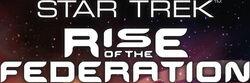 Star Trek Rise of the Federation Schriftzug