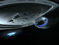 Voyager schießt Trikobalttorpedos