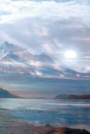 Alpha Centauri IV Landschaft