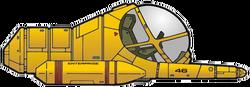 Sphinx-Klasse-Arbeitskapsel