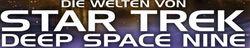 Star Trek Die Welten von Star Trek Deep Space Nine Schriftzug