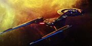 USS Discovery in Klingon space