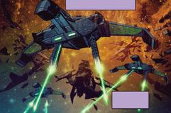 Romulaner Angriff 2261