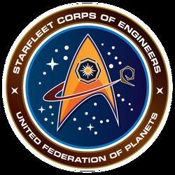 Ingenieurkorps der Sternenflotte Logo