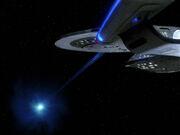 Enterprise-D-Quantenspalt