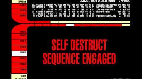 Star Trek Voyager - Self Destruct (HD Lcars)