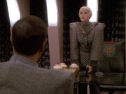 Sela bedroht Spock