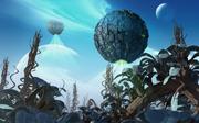 BorgSphäre Planetenassimilation
