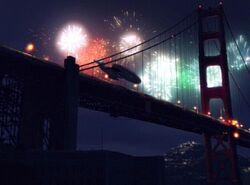 Voyager Feuerwerk
