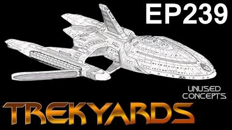 Trekyards EP239 - USS Voyager Concept 1 (Sternbach Special)