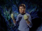 McCoy behandelt eine Horta