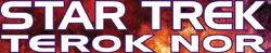 Star Trek Terok Nor Schriftzug