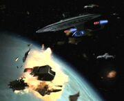 USS Venture Feuer