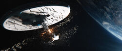 Enterprise zerstört 2263