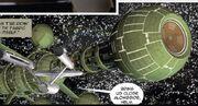 USS Enterprise encounters a colonizer