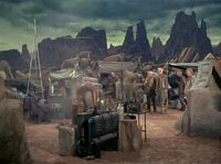 Columbia encampment