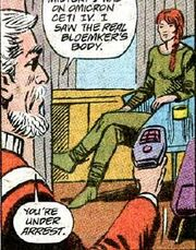 Finnegan confronts Bloemker