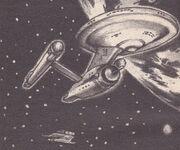 USS Enterprise and Spitfire