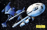 Enterprise and Romulan cruise adrift, Deadlock