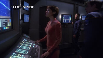 The Xindi title card
