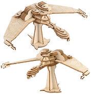 IncrediBuilds Klingon Bird-of-Prey model