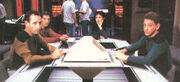 James G. Becker Produktionsbild TNG