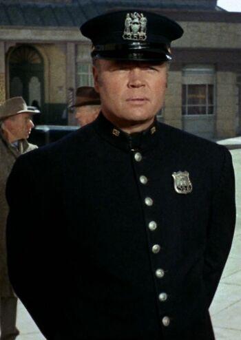 ...as a 1930s policeman.