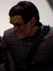 Romulanischer Offizier Prometheus 2374