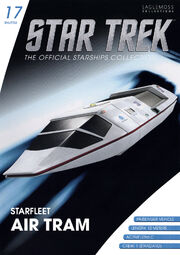 Star Trek Official Starships Collection Shuttle issue 17