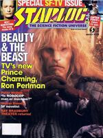 Starlog issue 128 cover