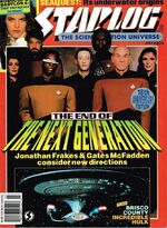 Starlog issue 204 cover