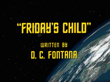 Friday's Child title card