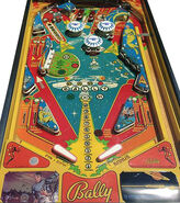 Bally Star Trek Pinball playfield