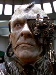 Borg-Drohne auf der Krankenstation der USS Voyager