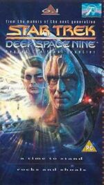 DS9 6.1 UK VHS cover