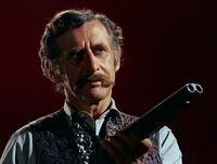 Doc Holliday with shotgun