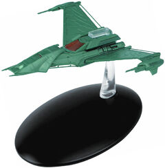 Eaglemoss Klingon Attack Ship