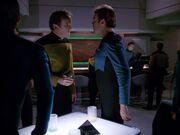O'Brien gerät in einen Streit