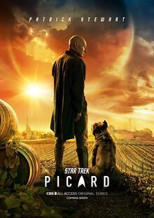 Poster Promo Serie Picard