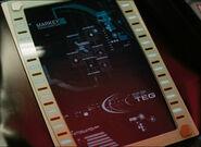 RADAR screen, 2258