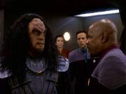 Sisko berichtet Scheitern Verhandlung