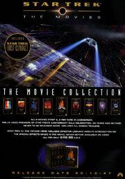 Star Trek - The Movies advert